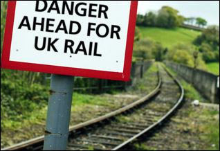 Danger ahead for UK rail