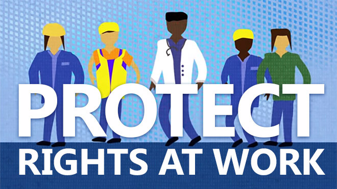 Don't cut a single workers' right for new UK laws