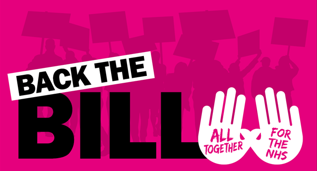 MPs vote to #BackTheBill for our NHS