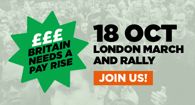 #18OCT: Join the TUC march in London