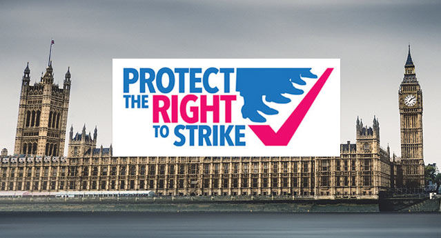 Respond to the government consultation on the right to strike